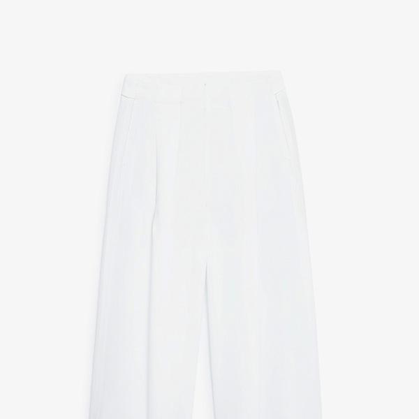 Mango Premium Flowy Palazzo Trousers