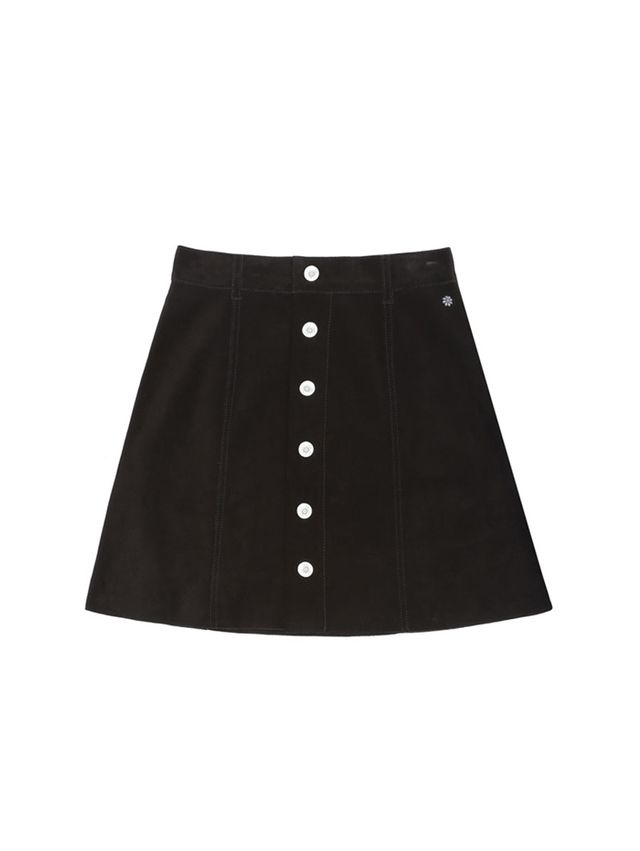 Alexa Chung for AG The Gove Suede Skirt