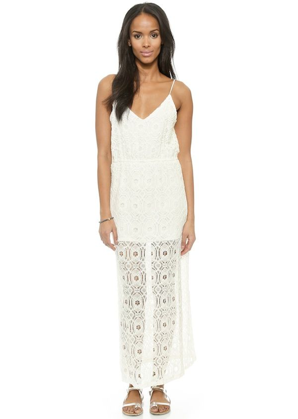 LIV Grace Lace Maxi Dress