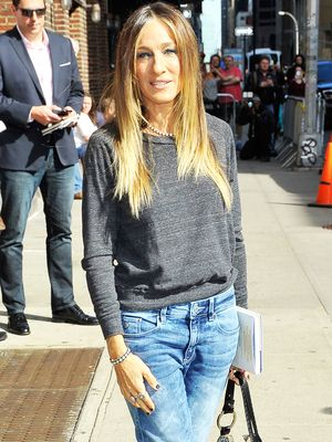 Sarah Jessica Parker's Secret to Looking Taller in Jeans