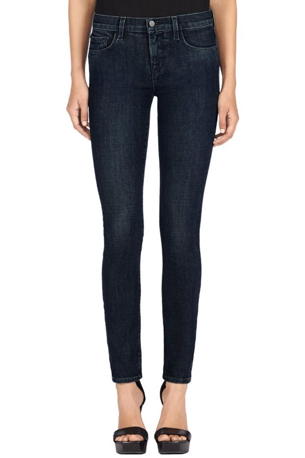 J Brand 811 Mid-Rise Skinny Leg Jeans