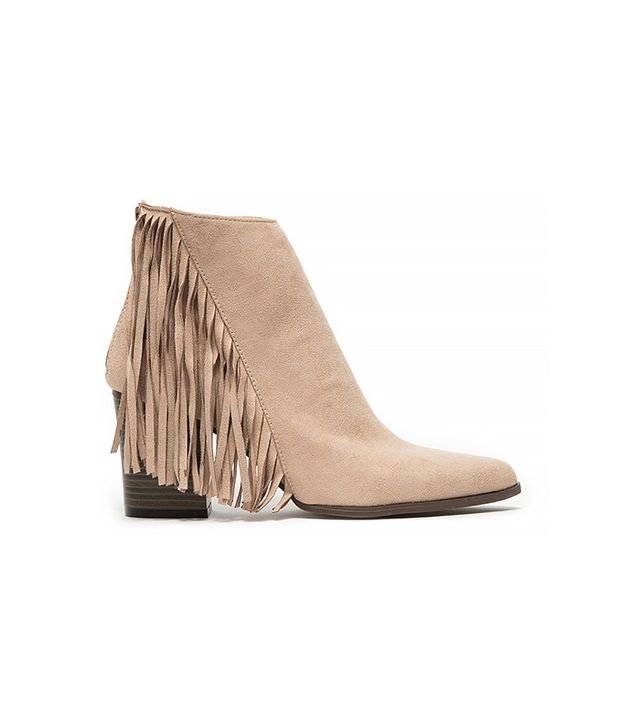 Need Supply Co. Suede Fringed Boot