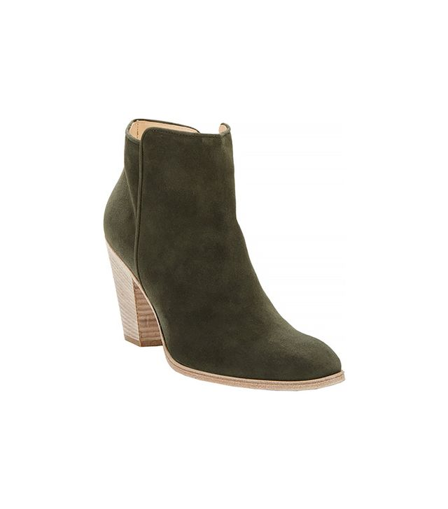 Barneys Bedford Ankle Boots, Green