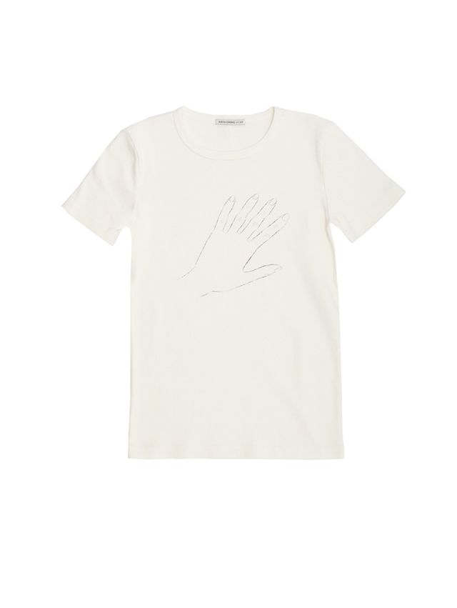 Alexa Chung for AG Palm Reader Short Sleeve Tee