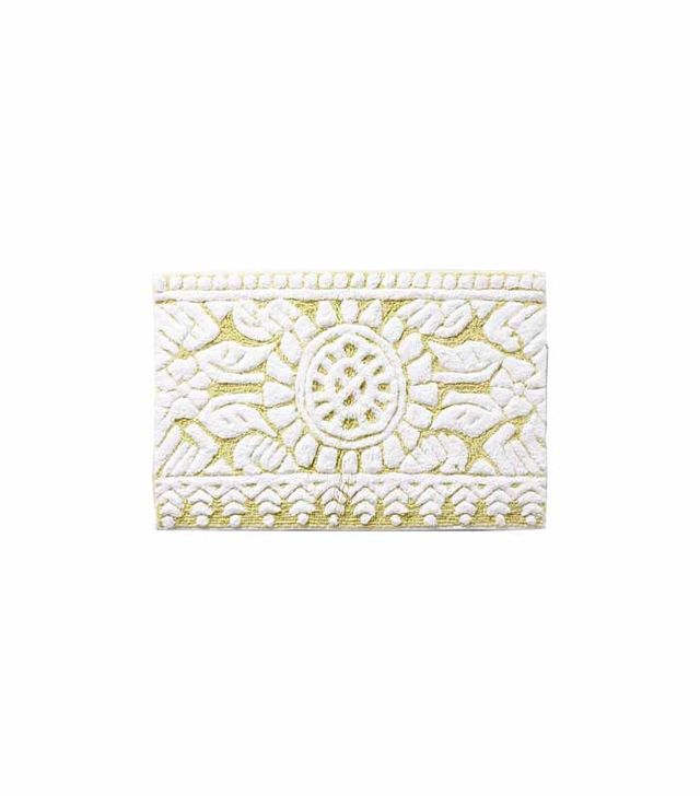Anthropologie Marigold Bathmat