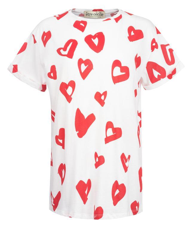 Être Cécile Hearts Oversize T-Shirt