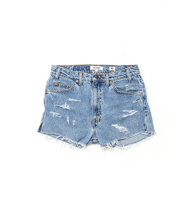 Re/Done The High Rise Shorts