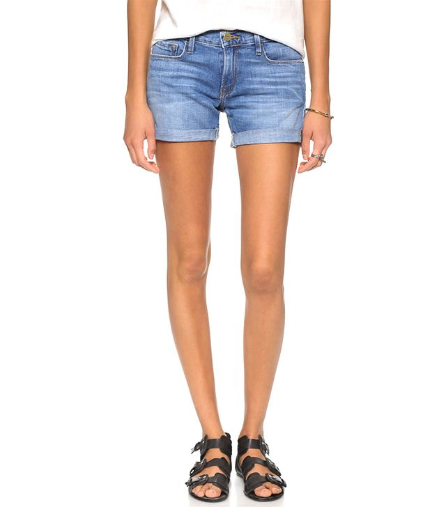Frame Le Cuffed Shorts