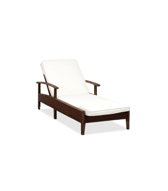 Pottery Barn Palmetto All-Weather Wicker Single Chaise