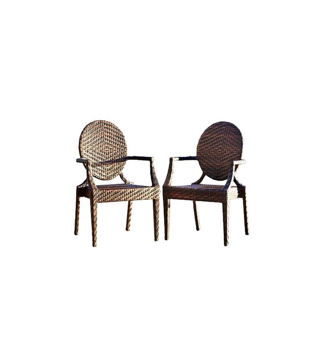 Christopher Knight Home Adriana Set of 2 Wicker Patio Chairs