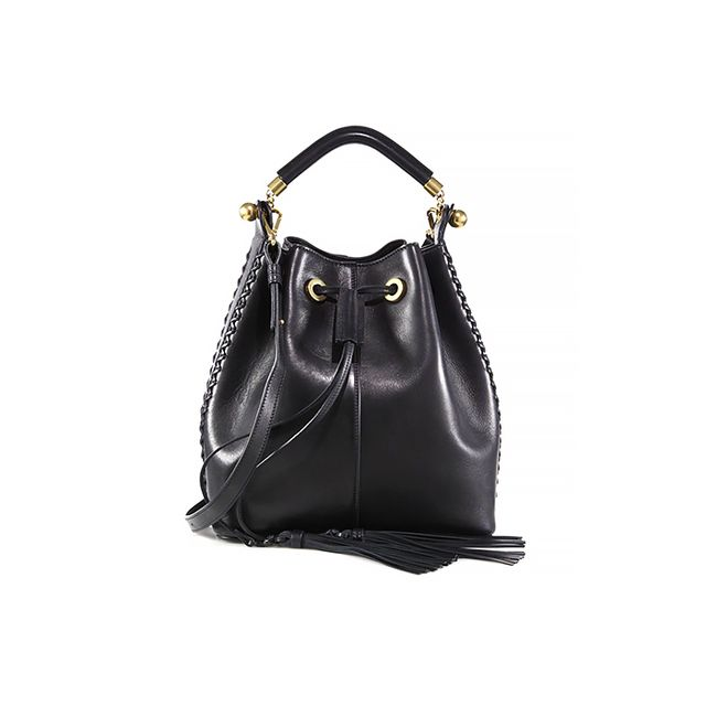 Chloé Gala Small Leather Bucket Bag
