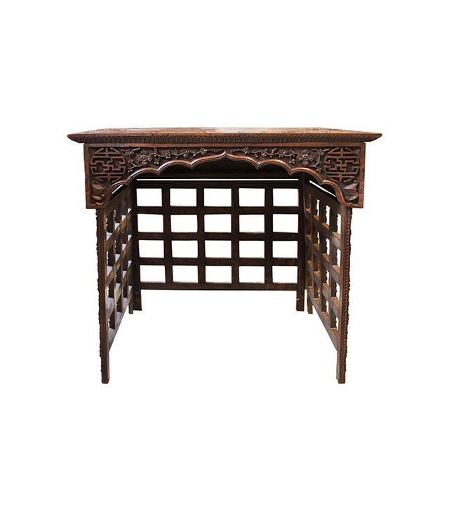 Panache Asian Hardwood Travelling Table