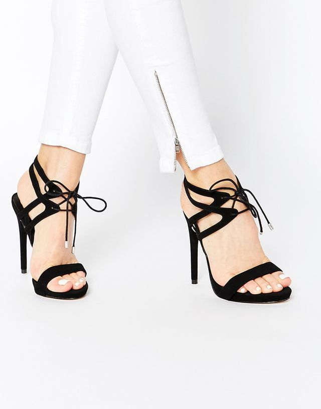 ASOS Honor Lace Up Heeled Sandals