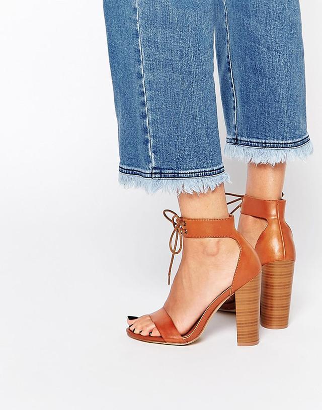 New Look Lace Up Block Heels