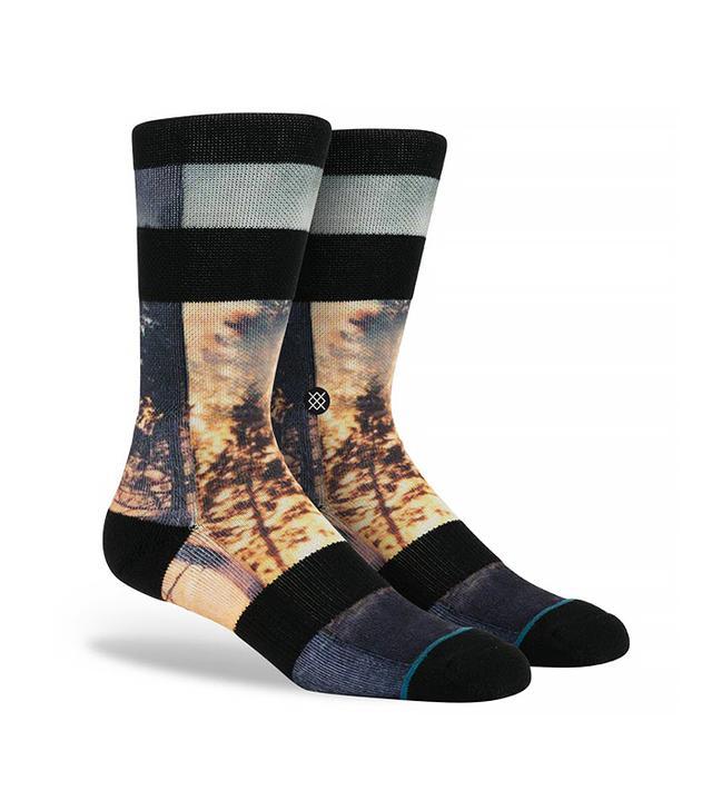 Dwyane Wade x Stance Oblivion Black Socks