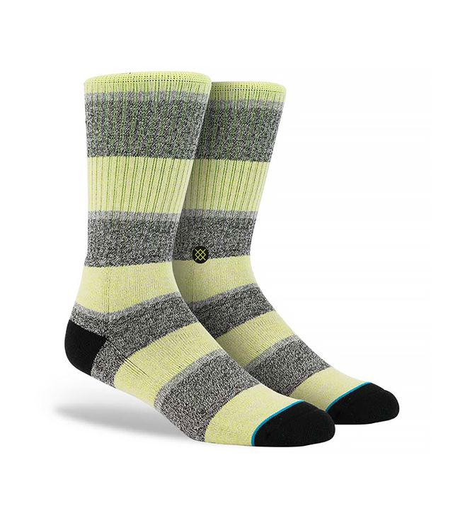 Dwyane Wade x Stance Electric Lime Socks