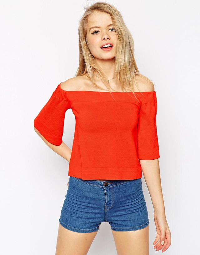 ASOS Off Shoulder Top