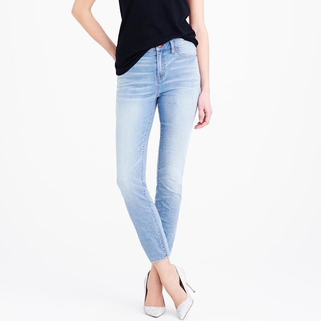 J.Crew High-Rise Crop Jeans