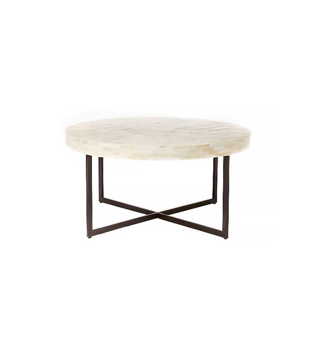 West Elm Low Bone Coffee Table