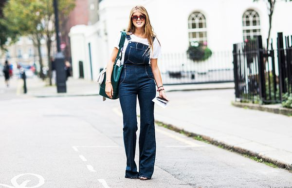 13. Layer it under overalls.
