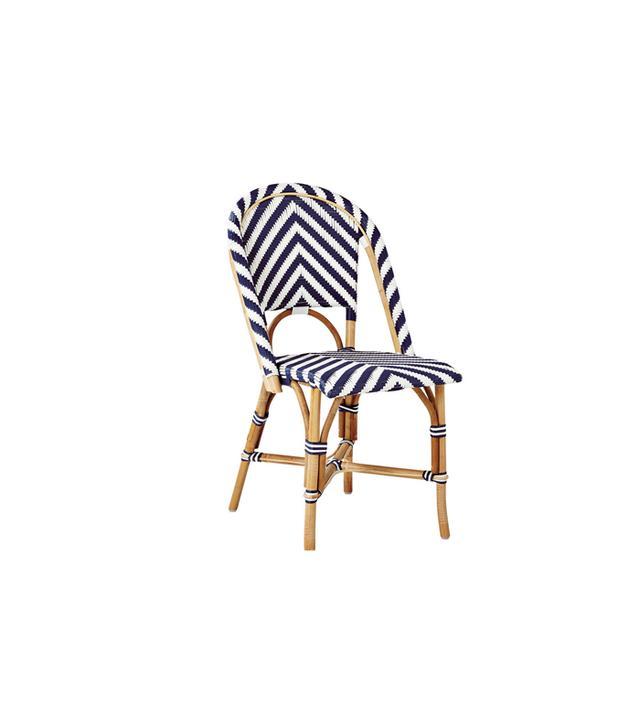 Serena & Lily Chevron Riviera Side Chair