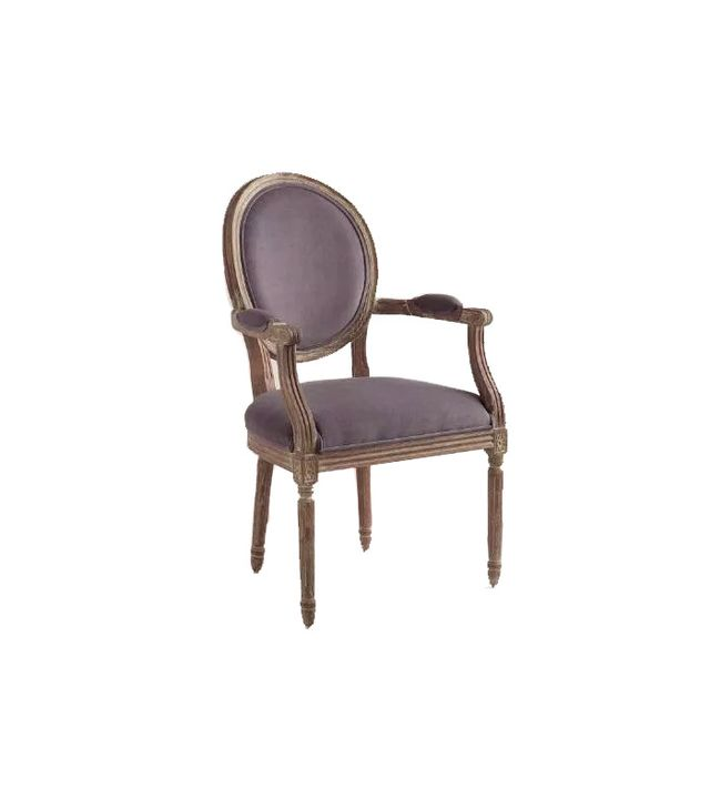 World Market Paige Round Back Armchair