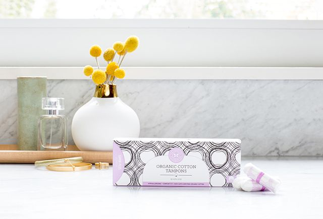 The Honest Company Organic Cotton Tampons Super Plus