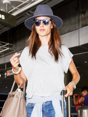 This Is How Alessandra Ambrosio Does Casual Style