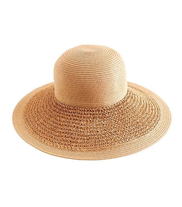 J.Crew Textured Summer Straw Hat