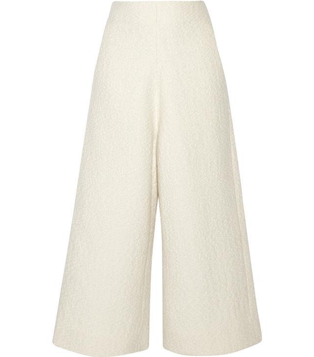 CO Bouclé-Tweed Culottes