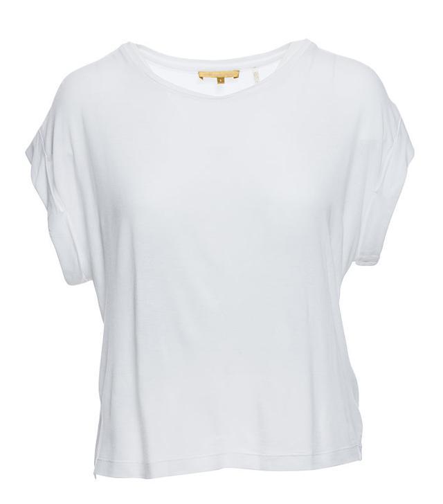 Minnie Rose Viviane Viscose Jersey Cuffed Sleeve Pullover