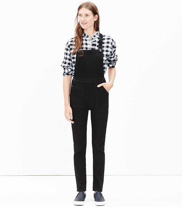 Madewell Denim Cross-Back Overalls