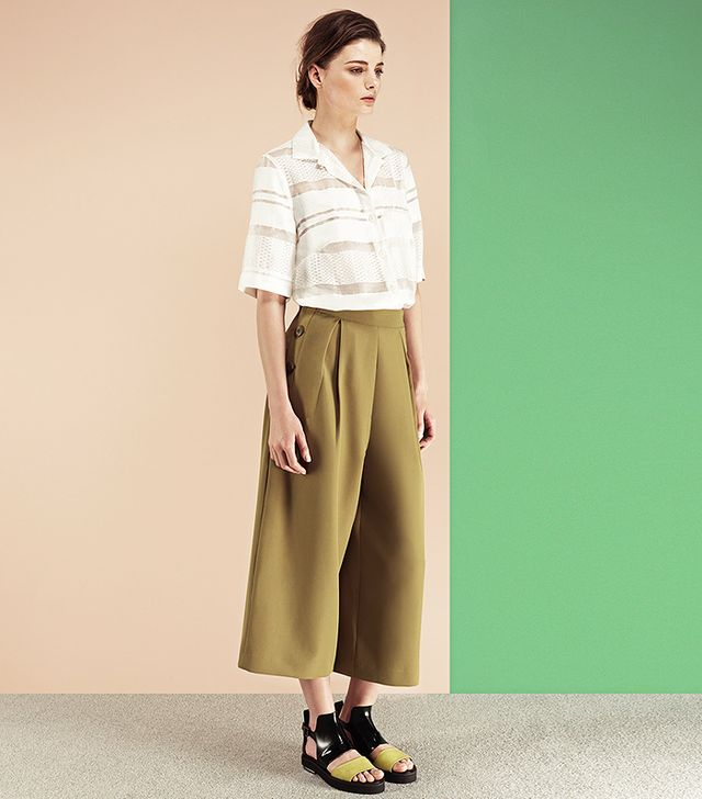 Finery Harley Matelot Button Detail Culottes