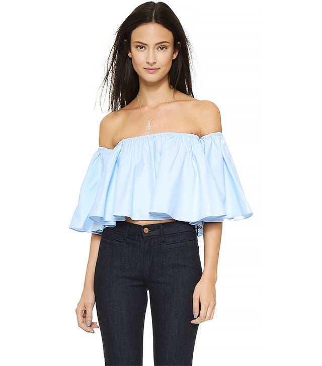 Nicholas Off Shoulder Top