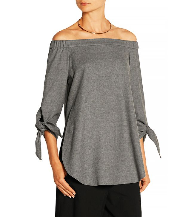 Tibi Off-the-Shoulder Top