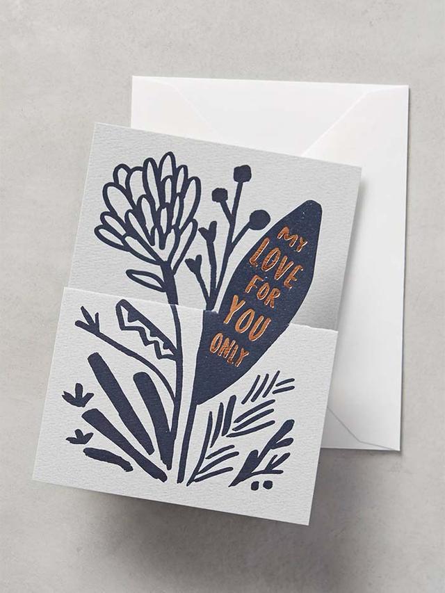Anthropologie Growing Love Card