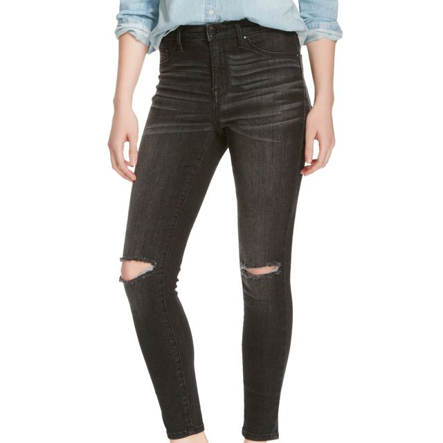 Mossimo for Target High-Rise Ripped Jeggings