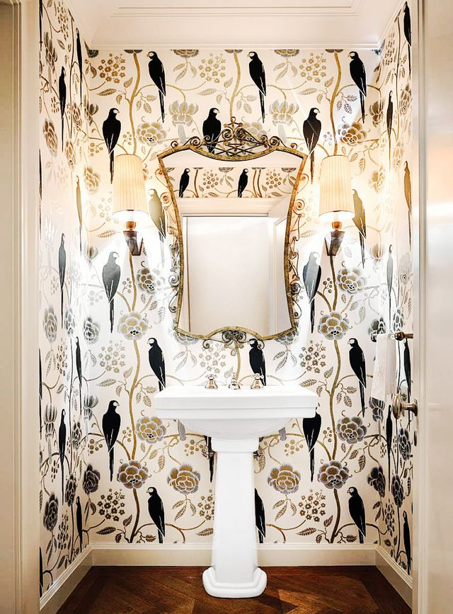 """If you really want to push your personal color boundaries, Fricke says the bathroom is the place to do it. """"I've seen color used to great effect in en suite bathrooms,"""" she says,..."""