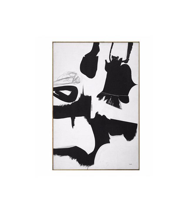 Kelly Wearstler Dan Shapiro Black and White Artwork