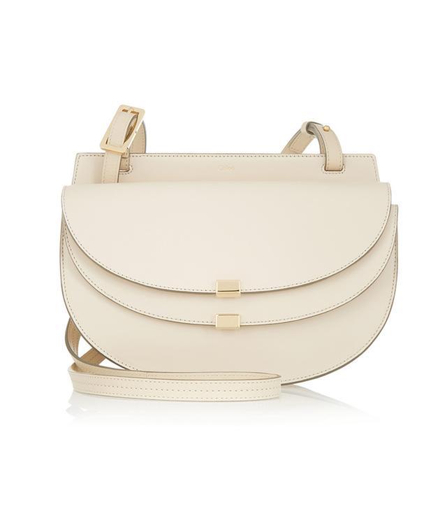 Chloé Georgia Small Leather Shoulder Bag