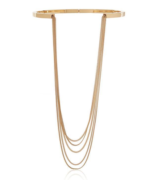 Chloé Delfine Gold-Tone Necklace