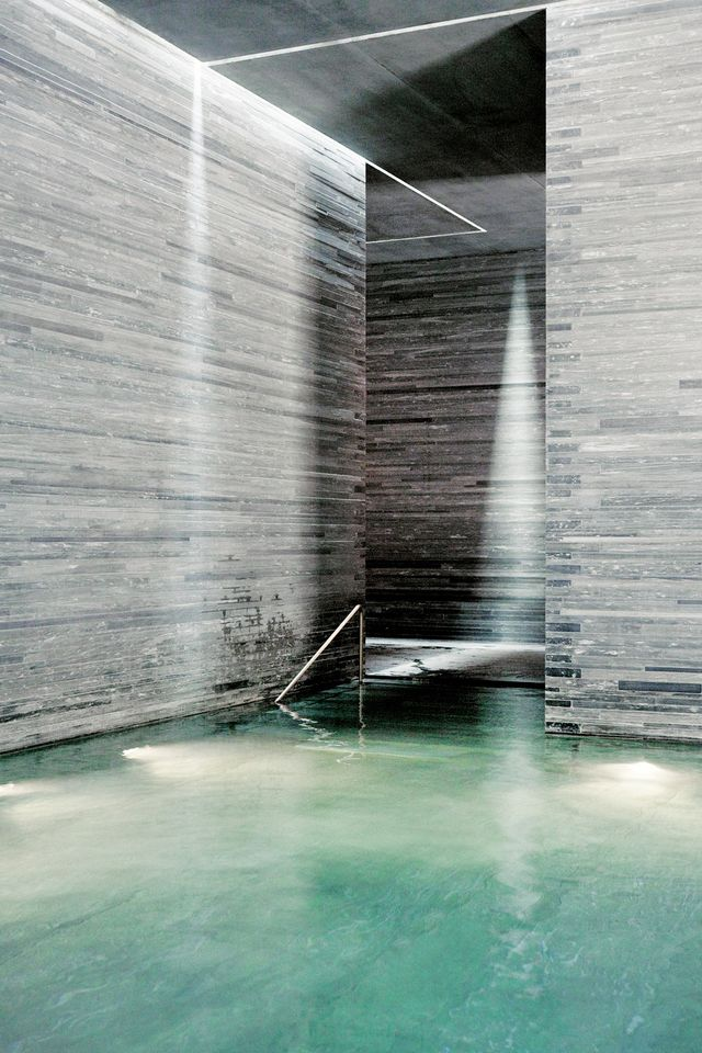 Vals Thermal at Hotel Therme, Vals, Switzerland