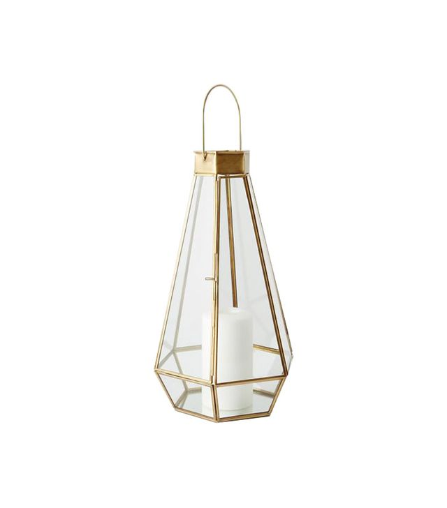 West Elm Faceted Lantern
