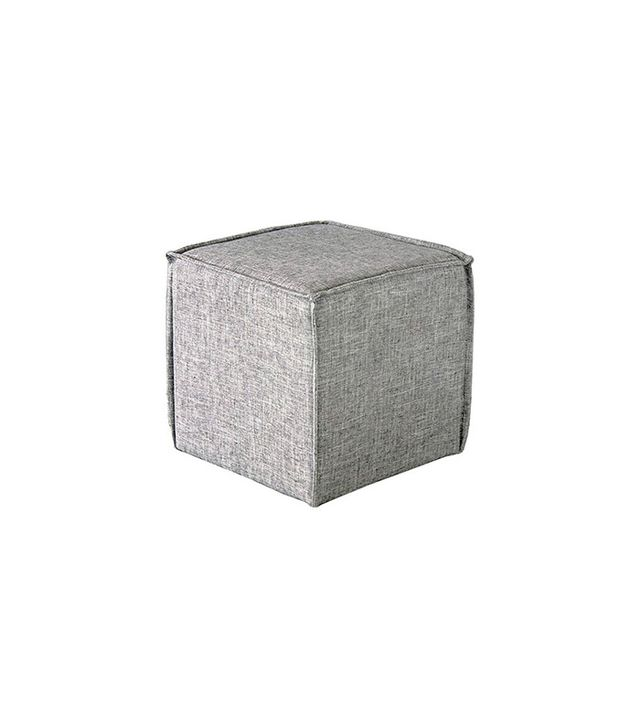 Target French Seam Square Pouf