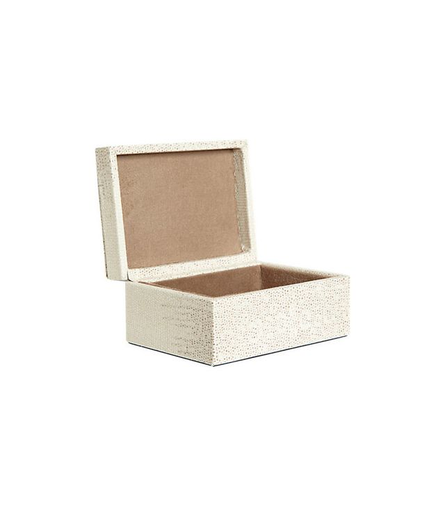 Barneys New York Lizard-Embossed Small Box