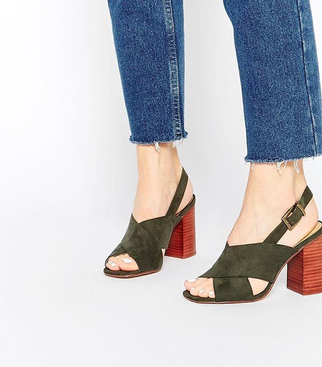 ASOS Tomorrow Heeled Sandals