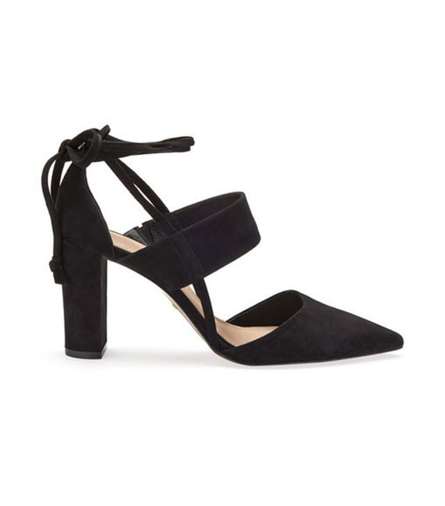 Whistles Azara Ankle Tie Point Shoe