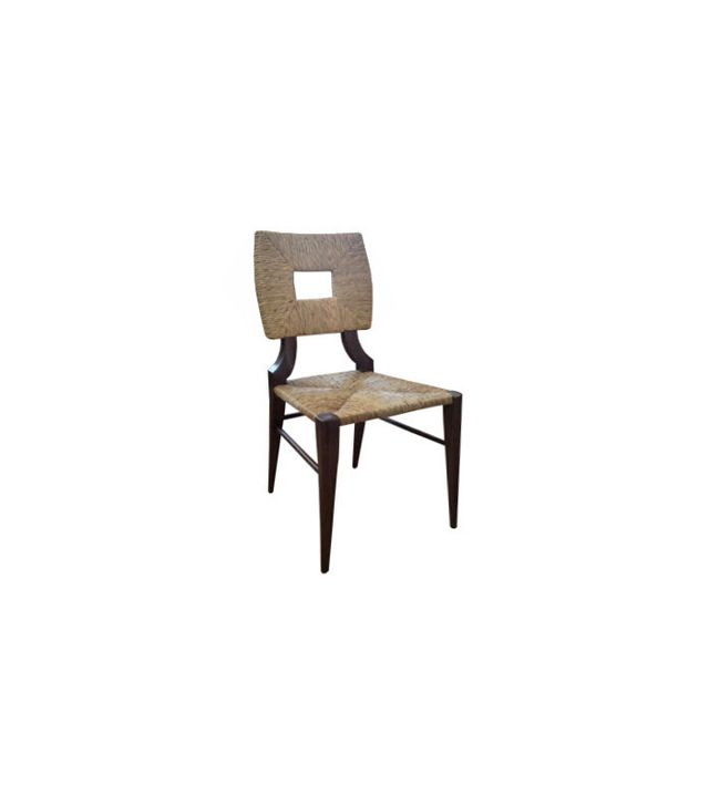 Hollywood at Home Natural Rush Side Chair