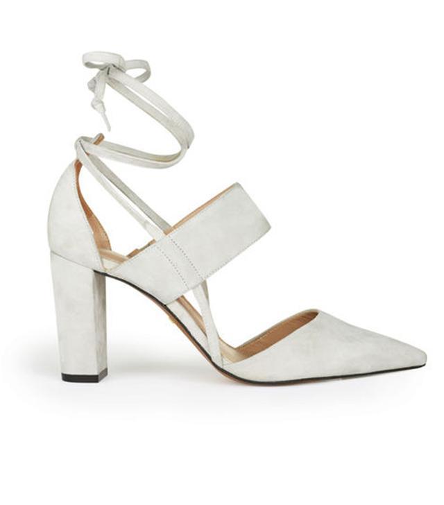 Whistles Azara Ankle Tie Point Shoes