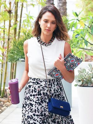 The Easy Outfit Jessica Alba Wears to Work